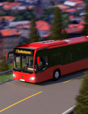 Buss og minibuss