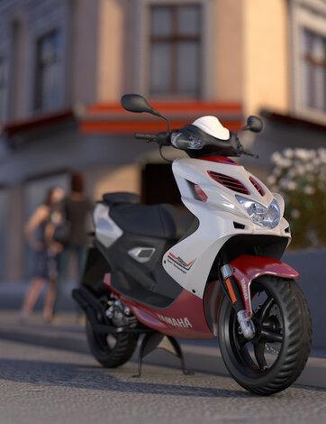 Moped og mopedbil
